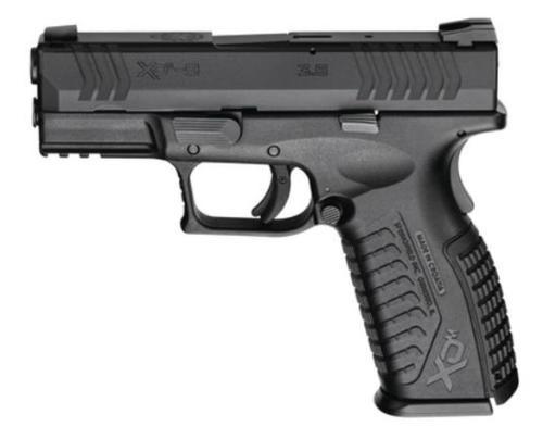 "Springfield XDM 9mm, 3.8"", Black, 19RD"