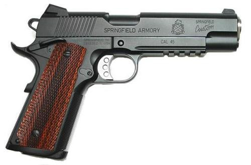 Springfield 1911 45 ACP TRP Pro Short Rail, FBI Model