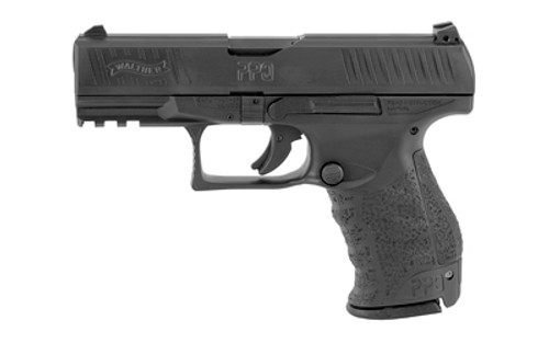 "Walther PPQ M2 9mm, 4"" Barrel, 3-Dot Adj. Low Profile, Black, 2x 15rd Mags"