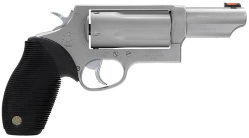 "Taurus Judge Magnum 410 Ga (3"" Chamber)/45 LC, 3"" Barrel, Matte Stainless Finish"