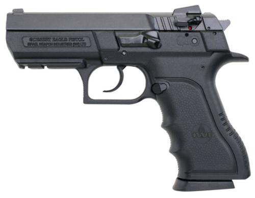 Magnum Research Baby Eagle SemiAuto 9mm Compact Polymer, Rail, 15 Rd Mag