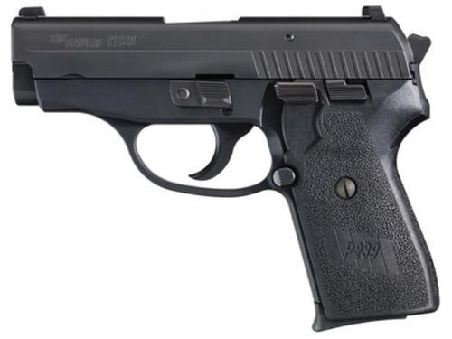 Sig P239 40 S&W 3.6In Nitron Black Da/Sa Siglite Polymer Grip (2) 7RD Steel MAG CA Compliant