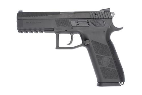 "CZ P-09 Full Size DA/SA 40SW, 4.53"" Poly Grip/Frame Black, 15rd"