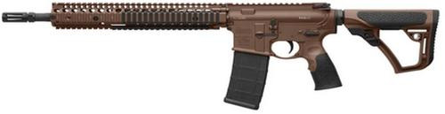 Daniel Defense M4A1 5.56/223 AR-15 RISII Rail System, Flat Dark Earth Cerakote Finish, M4A1 Laser Etched