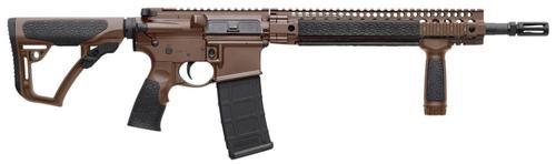 "Daniel Defense DDM4 Carbine v5 S 5.56mm NATO 14.5"" Barrel, Extended DD Flash Suppressor Cerakote Finish 30 Rd Mag"