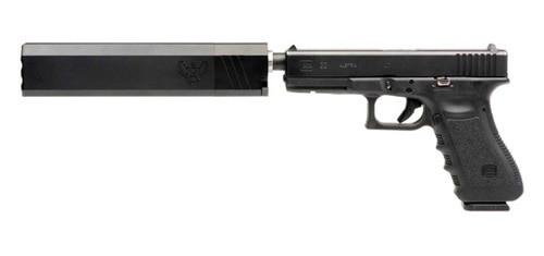 Silencerco 40 Osprey Suppressor, Body Only, No Piston