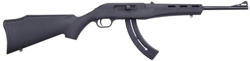 "Mossberg Blaze 22LR, 16.5"", 26rd, Black Synthetic Stock"