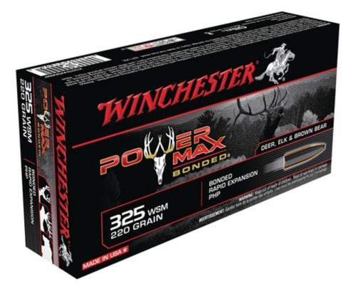 Winchester Power-Max .325 Winchester Short Magnum 220gr, Protected Hollow Point Bonded 20/Box