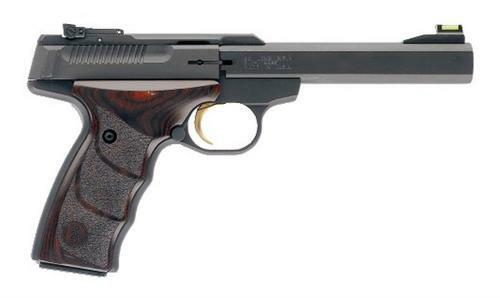 "Browning Buck Mark, Rosewood UDX 22 LR, 5.5"" Barrel, Aluminum Frame, Black, Rosewood FGrip, 10Rd"