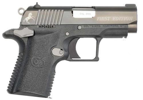 "Colt Mustang XSP First Edition SAO .380 ACP 2.75"" Barrel"