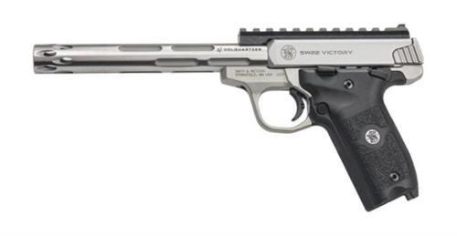 Smith & Wesson Victory Pistol 22LR, Volquartsen I-Fluted Barrel Installed, 2 Mags