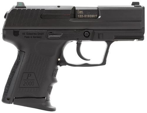 HK P2000 SK (V2) LEM DAO, three 9rd magazines and night sights