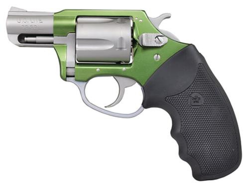 """Charter Arms Undercover Lite Shackrock, .38 Special, 2"""" Barrel, 5rd, Stainless/Green"""