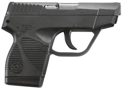 "Taurus Model 738B TCP, 380 Compact Pistol/3.3"", Blue, 1 Mag"