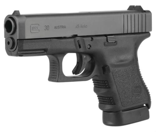 "Glock G30 Gen4 45 ACP 3.77"" Barrel Fixed Sights 10rd Mag"