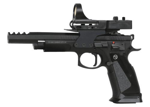 CZ 75 TS Czechmate 9mm Black 2x20rd + 1x26rd Mags