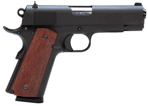 "ATI FX45 GI 1911 45 ACP 4.25"", Matte Black, Military Sights, 7rd Mag"