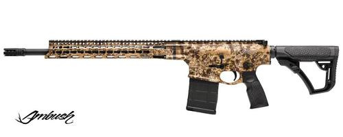 "Daniel Defense DD5 Ambush 308/7.62 18"" Barrel Kryptek Highlander Camo 20 Rd Mag"