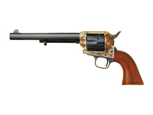 """Cimarron General Custer 7th Cavalry .45 Colt 5.5"""" Barrel Old Model Case Hardened Frame, 7th Cavalry Markings Blue"""