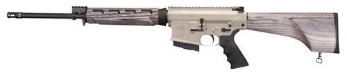"Windham Weaponry Model 308 Hunter .308 Winchester 18"" Fluted Medium Profile Barrel A2 Flash Suppressor Pepper Finish Laminated Hardwood Stock 5rd"
