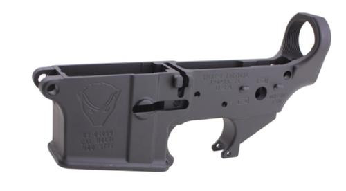 Spikes Lower Receiver Stripped - Honey Badger Logo