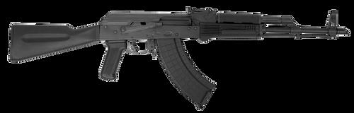 Inter Ordnance AKM247 Rifle 7.62x39mm, Synthetic Black Stock,, rd,  30 rd