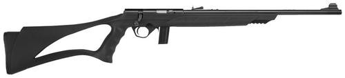 "Mossberg 802 Plinkster Bolt 22LR 18"" Barrel, Black Synthetic Sport Grip Stock Blued, 10rd"