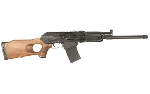 "Fime Group Vepr 12, Semi-automatic Shotgun, 12 Gauge, 19"" Chrome Lined Threaded Barrel, Thumbhole Wood Stock, 1-5Rd"