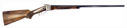 """Pedersoli 1878 Sharps Single Shot 45-70 Govt, 30"""" Blued Barrel, Checkered Wood Stock, Engraved Receiver"""