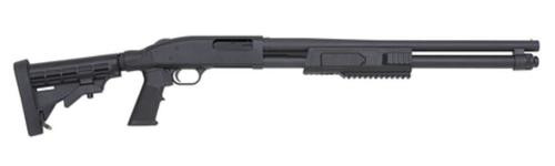 "Mossberg Flex 590 Tactical TLS 12g 20"", 6-Position Adjustable Stock, 8 Round"