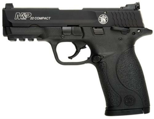 "Smith & Wesson M&P Compact 22LR, 3.5"" Threaded Barrel, Adjustable Sights, 10rd"