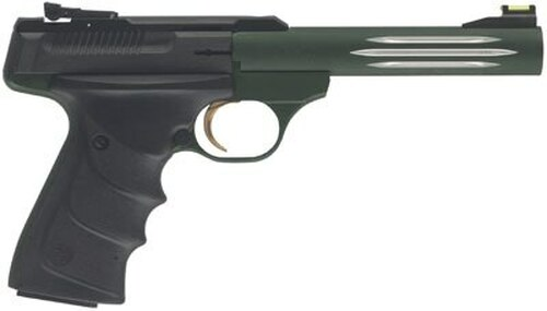 "Browning Buck Mark Lite URX 22LR 5.5"" Barrel Green Finish CA Legal"