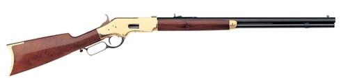 "Uberti 1866 Yellowboy Sporting Rifle, .38 Special, 24.5"" Barrel, Brass"