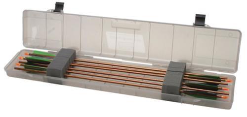 "MTM Case Gard Compact Arrow Case Clear Smoke 36.25x7.5x3"""