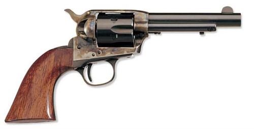 "Uberti 1873 Cattleman New Model Stallion Target, 22LR, 5.5"", Brass"
