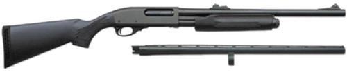 "Remington 870 Express Synthetic Youth Combo, Pump, 20 Ga, 3"" Chamber, 20"" & 21"" Barrels, Black, Synthetic Stock, 4Rd"