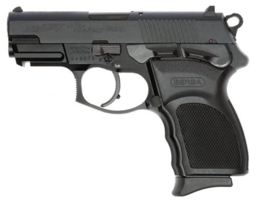 "Bersa Thunder Pro Ultra Compact 9MM 3.5"" Barrel Matte Black Polymer Grips 10 Round Mag"