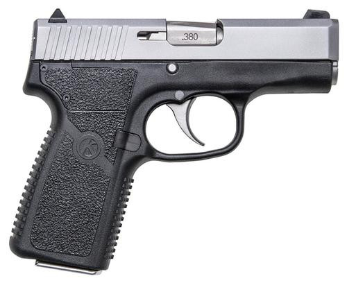 "Kahr Arms CT380 .380 ACP DAO, 3.0"" Barrel, Black Poly Grips, Matte Stainless Slide, 1 Mag, 7rdrds"
