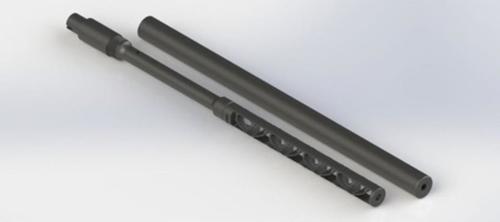 Gemtech MIST-22 10/22 Intregral Suppressed Barrel for Ruger 10/22, Direct Fit