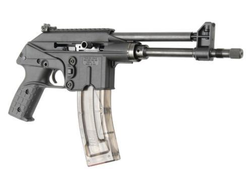 """Kel-Tec 22 Pistol 22LR 10"""" Threaded Barrel Adjustable Sights Black 26rd Mag"""