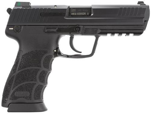 "HK, HK45, Semi-automatic, Full Size, 45ACP, 4.5"" Barrel, Black Color, Night Sights, 10Rd, 3 Magazines"