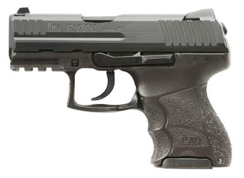 "HK P30 Subcompact V1-DAO 9mm, 3.27"" Barrel, Adjustable Grip, Night Sights, 3x10rd Mags"