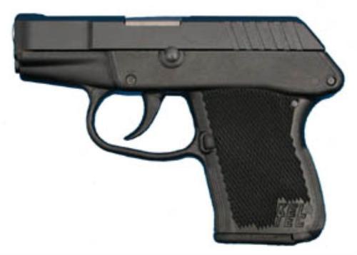 Kel-Tec P3ATBBlack DAO 380 ACP 2.75,  Black Poly Grip Blued,  6 rd