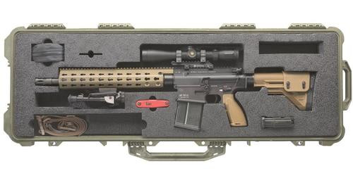 HK MR762, 7.62mm Long Rifle Package II, Leupold 3-9x VX-R Patrol scope, 2 10 Rd Mags