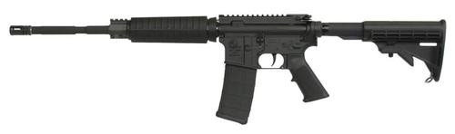 """Armalite, Defensive Sporting Rifle, 223 Rem/5.56mm, 16"""" Chrome Lined Barrel, 1:7 Twist, Black, 6-Position Collapsible Stock, 30Rd, 1 Magpul Magazine, Mil-spec 1913 Rail, Rifle Weighs 6.1lbs"""