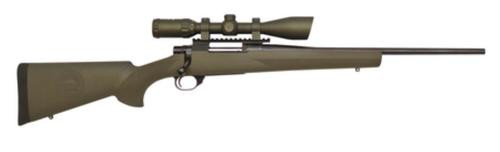 """Howa Ranchland Compact Rifle/Scope Package .204 Ruger 20"""" Blued Barrel Synthetic Olive Drab Green Stock 5rds With 3-10x42mm Riflescope"""