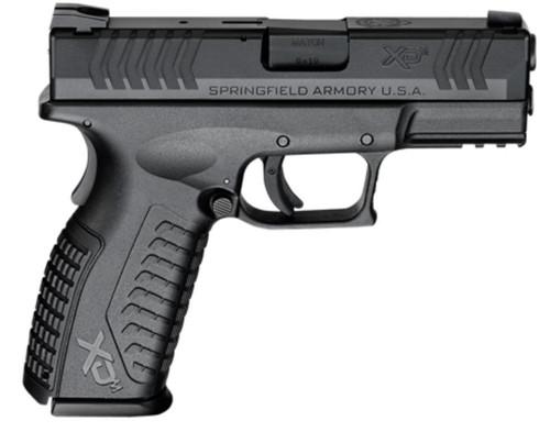"Springfield XDM 9mm Black 3.8"" Barrel 19rd Mag"