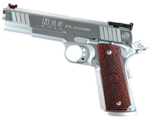 "Metro Arms 1911 Classic 45 ACP 5"" Barrel, Hardwood, Logo Hard Chrome, 8rd"
