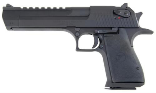 "Magnum Research Desert Eagle Mark XIX 50AE, 6"" Barrel, Black, 7rd"