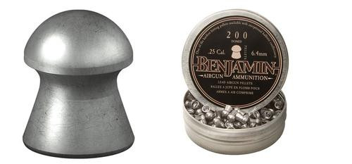 Crossman Benjamin Domed Pellets .25 Caliber